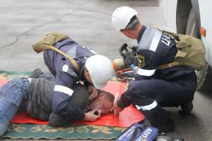 Оказание первой помощи пострадавшим