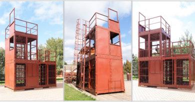 Учебно-тренировочный комплекс «КУБ» для спасателей и пожарных
