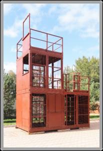 Тренажер для спасателей и пожарных «КУБ-3». Вид спереди