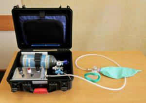 Аппарат ИВЛ «ГС-16» с блоком для ингаляции