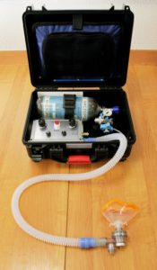 Аппарат ИВЛ «ГС-16» с блоком для ИВЛ