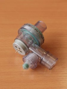 """Аппарат ИВЛ """"ГС-16"""" блок для ИВЛ с индикатором фазы вдоха/выдоха."""