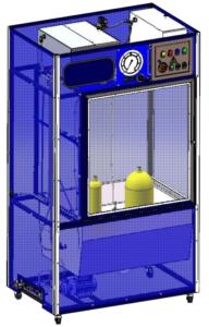 установка для технического освидетельствования баллонов