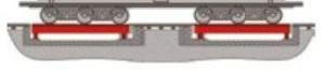 Весы вагонные шестиосного взвешивания